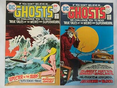 Ghosts #38 & 39 DC Bronze Age Horror Lot High Grade VF/NM 9.0-9.2 H736