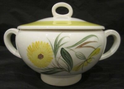 Susie Cooper Lidded Bowl With Hand Painted 'Marigold' Pattern