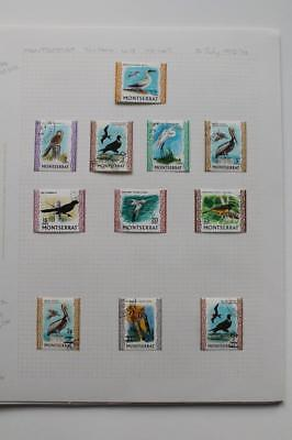 MONTSERRAT Fine Used Collection from 1972-80 Lots of attractive thematics