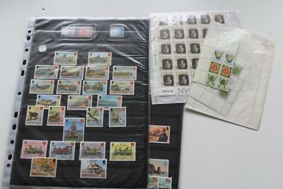 GB Isle Of Man IOM MINT Collection of Decimal Stamps Unused Face Value £48.29