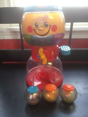 Fisher Price Roll A Rounds Swirlin Surprise Gumball 4 balls