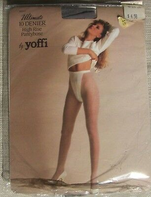 Vintage Med - 80s Small Size A Grey Mist by yoffi  pantyhose w/ model