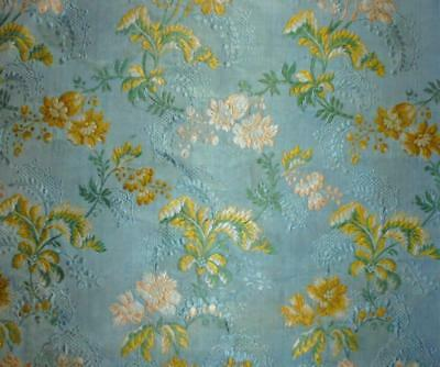 EXQUISITE RARE 18th CENTURY SPITALFIELDS SILK BROCADE c1750s, GREAT CONDITION