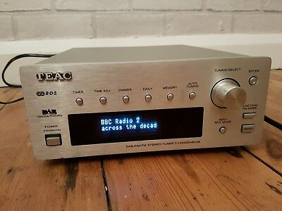 TEAC T-H300DAB MKII REFERENCE 300 SERIES DAB FM MW TUNER in Silver