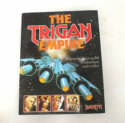 THE TRIGAN EMPIRE Hardback Book Published By HAMLYN Dated 1978  - S60