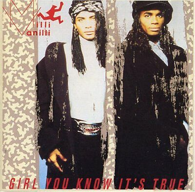 Milli Vanilli - Girl You Know It's True - Milli Vanilli CD H8VG The Fast Free