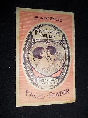 Antique Advertising Face Powder Sample Unopened