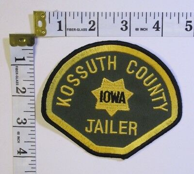 Kossuth County Iowa Jailer Shoulder Patch