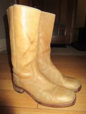 Vintage Retro Wrangler Motorcycle Campus Boots 1960's 70's Made in USA men's 11D