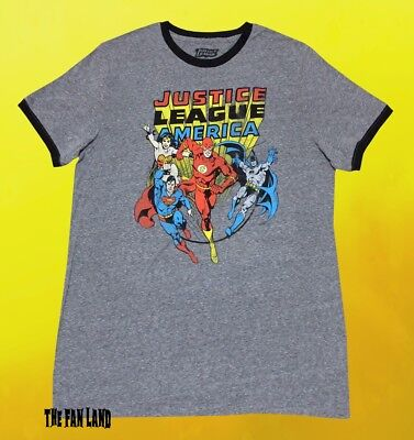 ORION DC Comics Licensed Adult Heather T-Shirt All Sizes