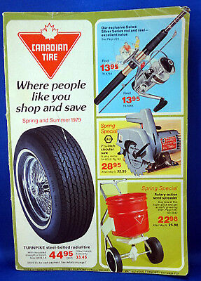 Vintage Canadian Tire Catalogue Spring Summer 1979 Annual Value Guide - Catalog