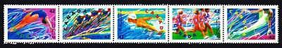 Canada  Stamps 1992 Summer Olympics Strip Of 5 Sc1992 Mnh