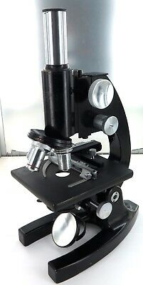 .c1942 BAUSCH & LOMB OPTICAL Co, USA MICROSCOPE. SERIAL No UK7989