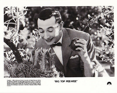 Paul Reubens Big Top Pee-Wee Randal Kleiser Original Vintage 1988