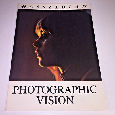 A5 booklet guide to Photographic Vision by Hasselblad, 1980