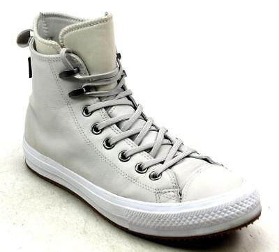 Mens Converse All Star Wp Waterproof Nubuck Hi Top Grey Boots Trainers Uk Size 8
