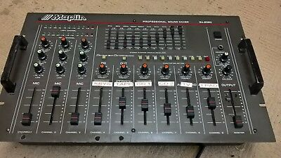 9 Channel Stereo Mixer With Graphic Equalizer
