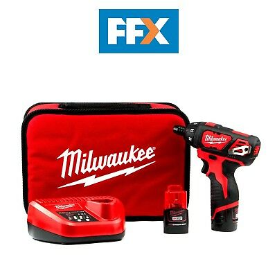 Milwaukee M12SET1D-152B 12v 2x1.5Ah Li-ion Sub Compact Screwdriver