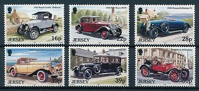 [H5033] Jersey 1992 : Old Cars - Good Set of Very Fine MNH Stamps
