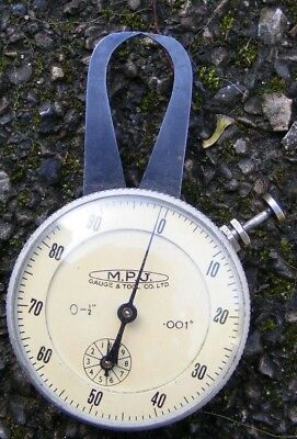vintage M P J gauge and tool Company measuring gauge