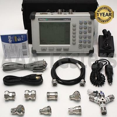 Anritsu S331D Site Master Cable & Antenna Analyzer SiteMaster w/ Option 29