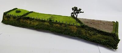 N Gauge Carved Polystyrene Layout Embankment (Magazine Featured) UNBOXED L31