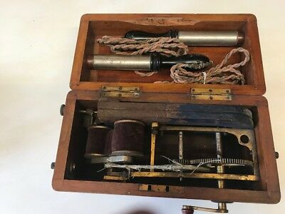 Vintage Antique Electric Shock Therapy Device /machine/instrument