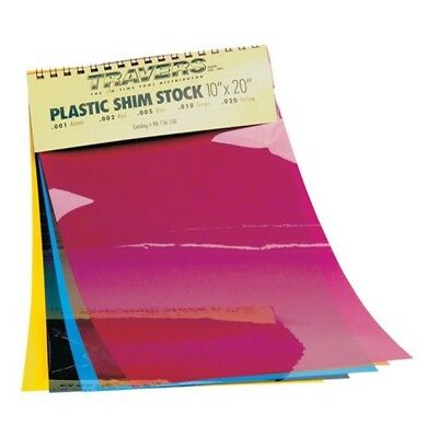 "98-136-001 Plastic 10"" x 20"" Shim Sheet Stock - Length: 20""   Thickness: .001"""