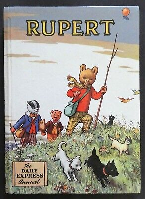 Rupert Annual 1955..original..not Inscribed Or Clipped...paint Contest Untouched