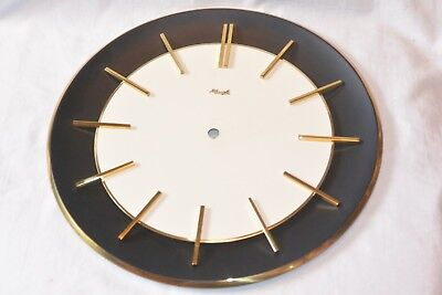"""Vintage Kienzle Wall 12"""" Clock Case Only for parts project"""
