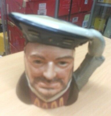 Royal Doulton Henry VIII toby jug Excellent Condition FREE P&P