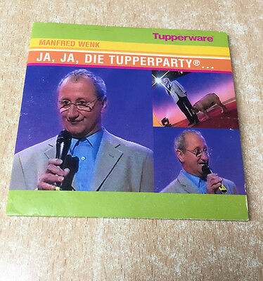 "Tupperware  ""JA, JA, DIE TUPPERPARTY ..."" Musik CD -Text Manfred Wenk - selten-"
