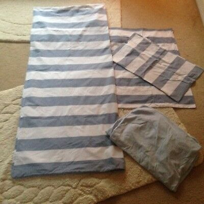 Little White Company Cot Bed Set