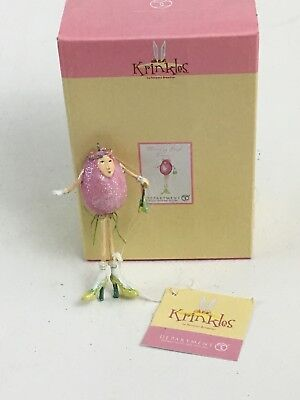 Dept. 56 Patience Brewster Krinkles Easter   Mini Egg People Ornament 56.24975