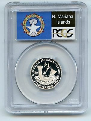 2009 S 25C Silver Northern Mariana Islands Quarter PCGS PR69DCAM