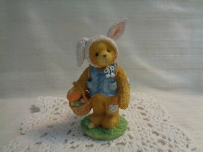 "Cherished Teddies 1994 Peter ""You Are Some Bunny Special"" #104973 Figurine"