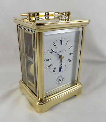 Matthew Norman 1751 Grande Repeater Alarm Carriage Clock - Cleaned & Serviced