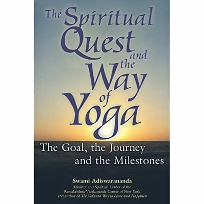 Spiritual Quest And The Way Of Yoga Hb: The Goal, the J - Hardcover NEW Adiswara