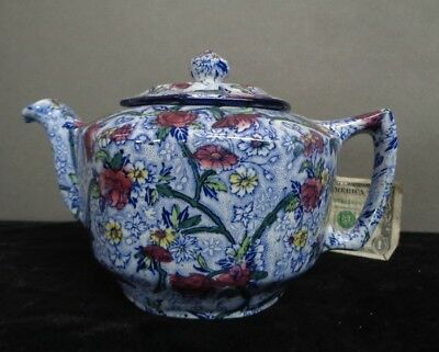 Antique 1920 CT Maling & Sons TEAPOT Maling-Ware England NR!