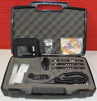 ODM TTK 500 Fiber Optic Test Kit w/Acc ~ USED