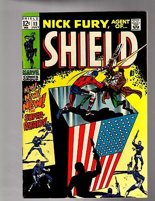 NICK FURY AGENT OF SHIELD 13 FINE MINUS July 1969