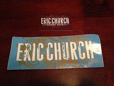 Eric Church Church Choir Bumper Sticker and Card
