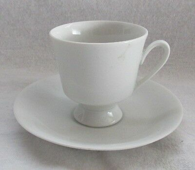 Johann Feltmann Vohenstrauss Germany Small White Cup And Saucer Numbered 501