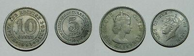 2 X Old Coins From British Malaya