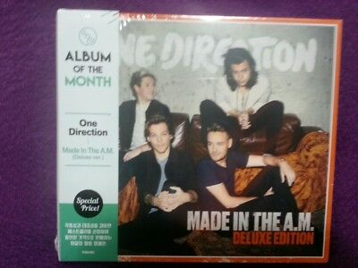 One Direction / Made In The A. M. (DELUXE EDITION) CD NEW SEALED