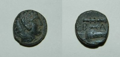Ancient Greek :  Alexander The Great 336-323 B.c. Ae17 - Vf - Great Patina