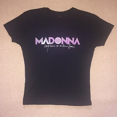 Madonna Confessions On Dance Floor Official Promo T-Shirt