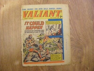 1966 Valiant Comic dated Aug 27th 1966 - in ok condition