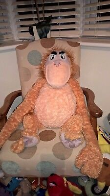 Fantastic Large 28 inch tall Genuine Disney King Louie of Jungle Book soft toy