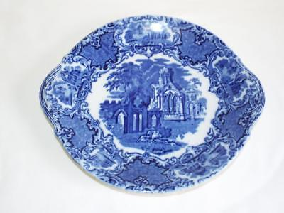 Vintage George Jones Abbey pattern two handled plate.
